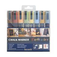 Set markera s tekućom kredom Earth colors