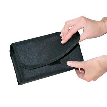 Novčanik s prozirnim pretincem za kovanice