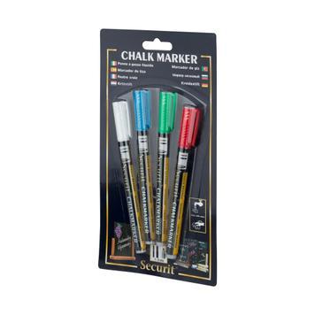 Set markera s tekućom kredom