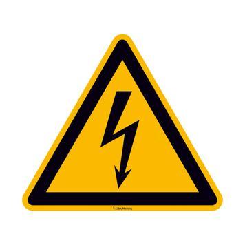 Upozorenje o električnom naponu