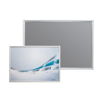 Klik-klak okvir, profil od 15 mm, s kosim ugaonim spojem (45°), srebrno eloksiran