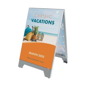 Digitalni stalak za plakate Stretchframe