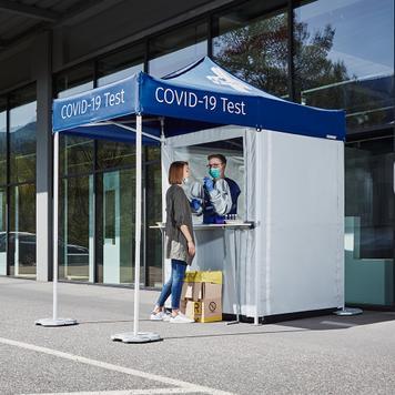 Mobilna kabina za testiranje