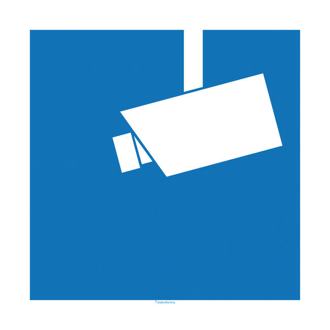 Natpisni znak za video nadzor