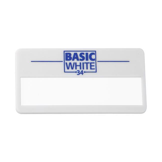 """Pločica s imenom """"Basic White 34"""""""