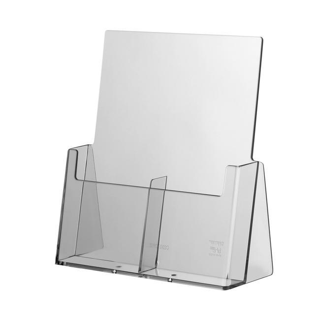 """Stolni stalak za prospekte s dva pretinca """"Universum"""" 1/3 DIN"""