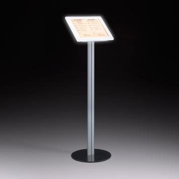 Stalak za informacije s LED osvj. i magnetnim okv.