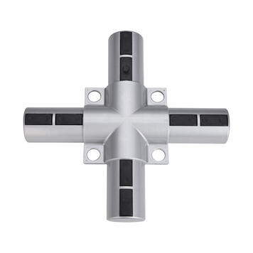 "Aluminijski okvir s utičnim spojevima ""Križni element - plastika"""