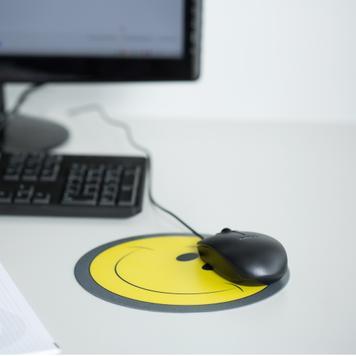Okrugla podloga za miša, s tiskom