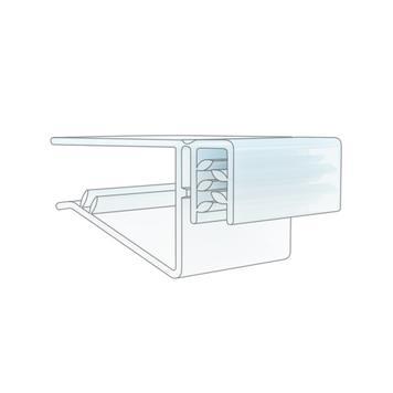 Super držač s funkcijom preklapanja, za police debljine do 19 mm