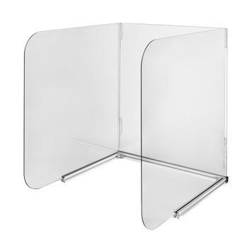 Higijenska zaštita s tri strane za stolove