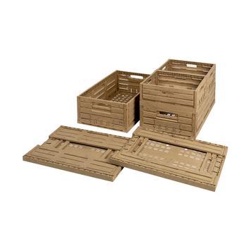 Sklopiva kutija izgleda drveta