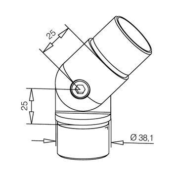 Unutarnji povezni element za cijevi