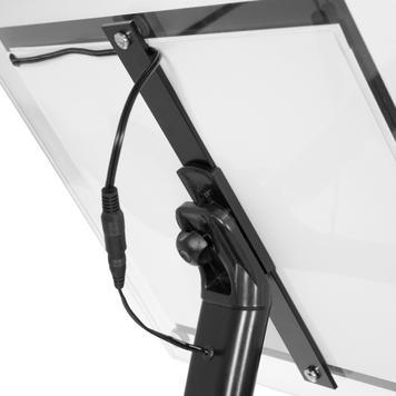 Akrilni stalak za informacije s LED osvjetljenjem