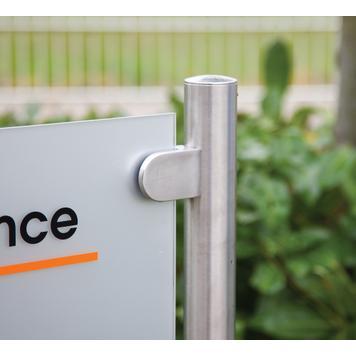 """Natpisna ploča za tvrtke """"Straight-Line Entrance"""""""
