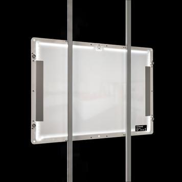 """Magnetni okvir s LED osvjetljenjem """"TS"""""""